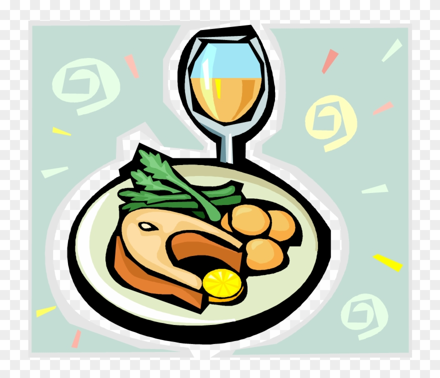 Collection of free dinned. Dinner clipart dinner meeting