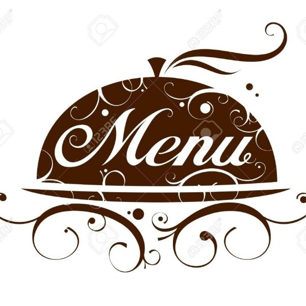 Printable and chart pertaining. Dinner clipart dinner menu