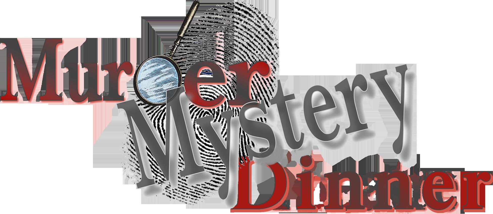 Dinner clipart dinner word. Murder mystery at hotel