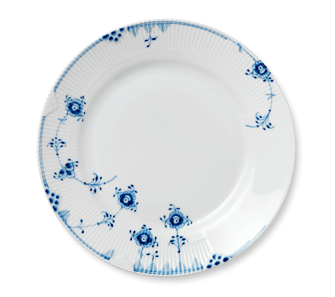 Dinner clipart empty plate. Plates royalcopenhagen com blue