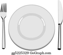 Clip art royalty free. Dinner clipart empty plate