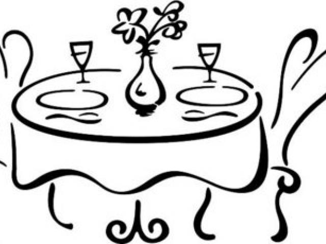 Free table download clip. Dinner clipart fine dining