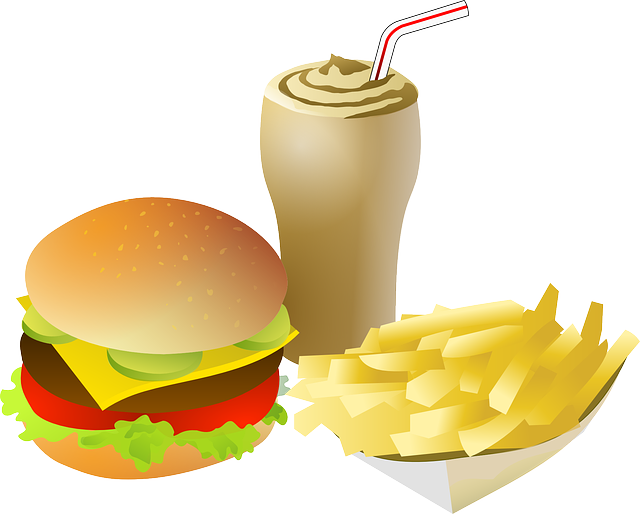 Dinner clipart food clip art. Free burger meal cliparts