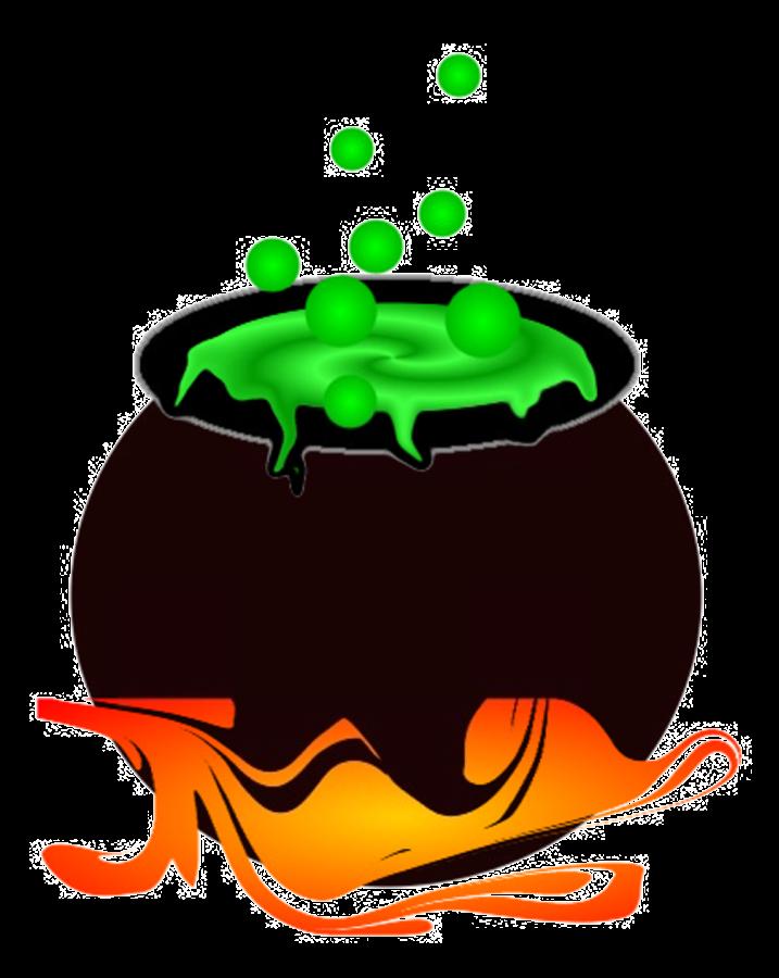 green clipart halloween