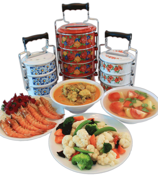 Tingkat delivery in sg. Dinner clipart home cooked meal