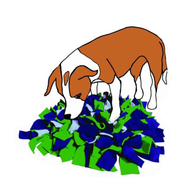 Snuffle mat make meal. Dinner clipart mealtime