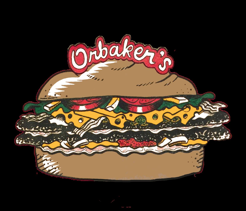 Orbaker s drive in. Dinner clipart meat plate