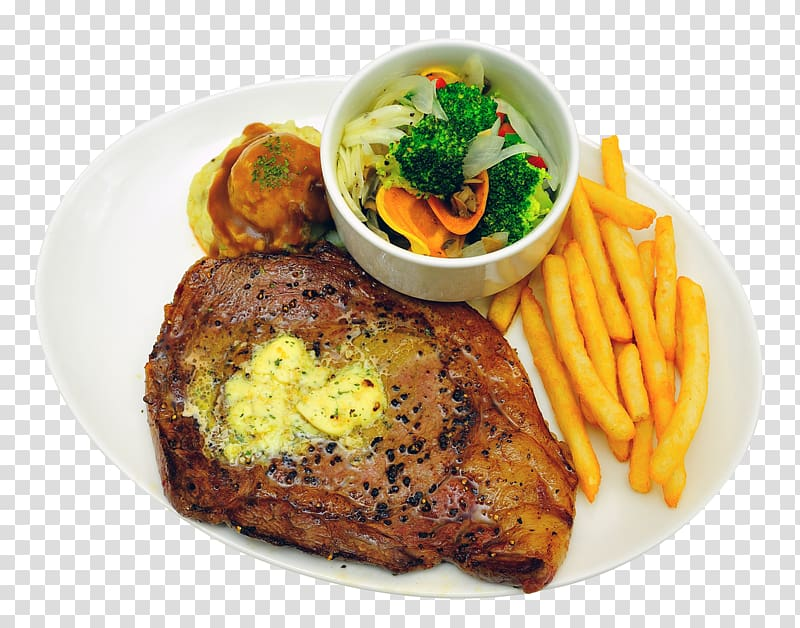 Fries and grilled on. Dinner clipart meat plate