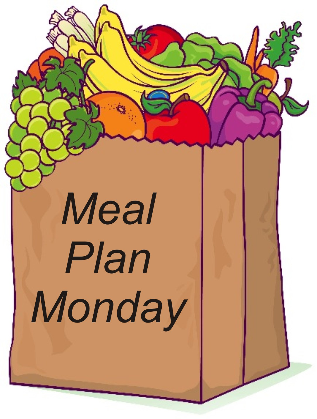 Planning clipart prep. Free meal plan cliparts