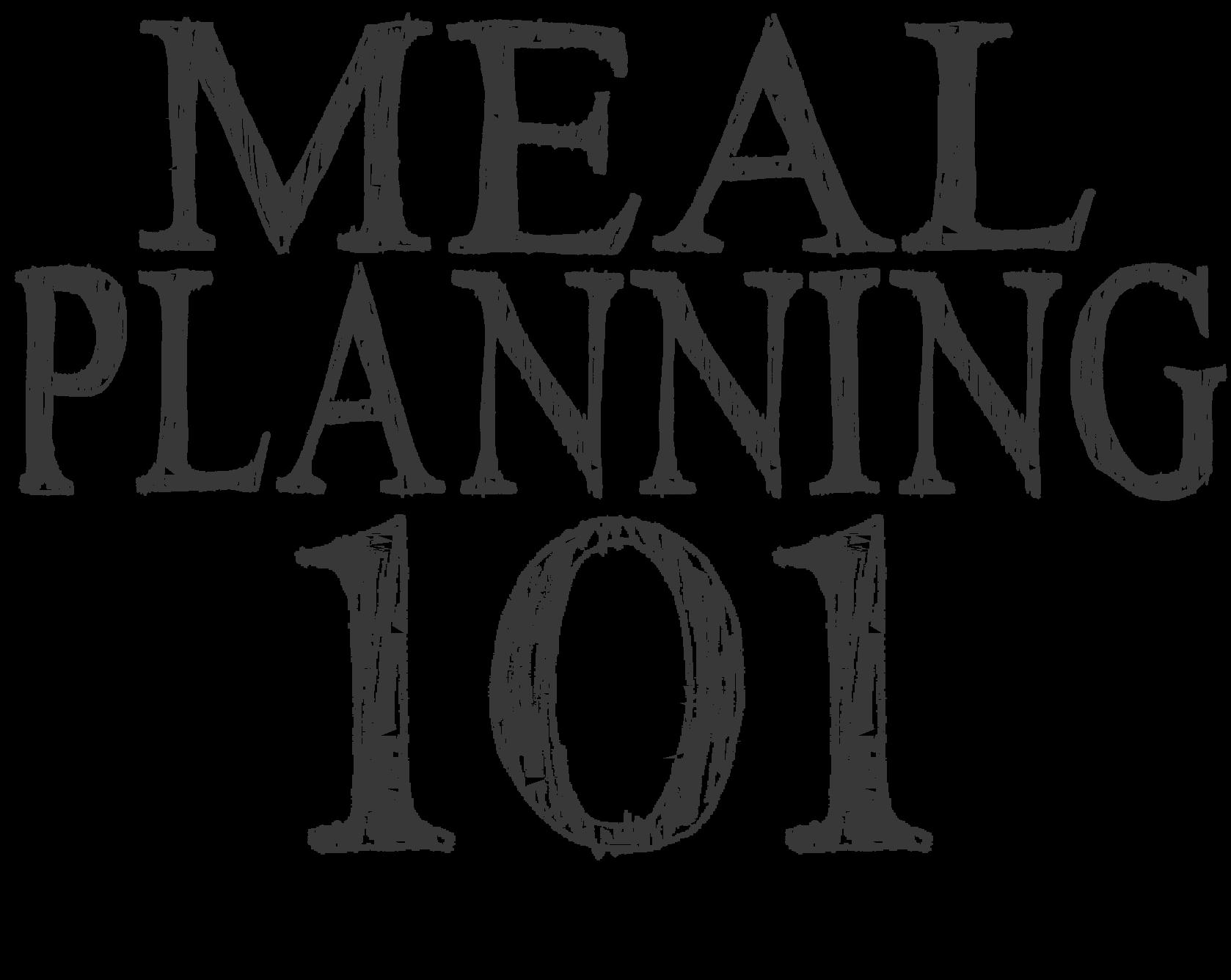 Family living well spending. Planner clipart meal plan