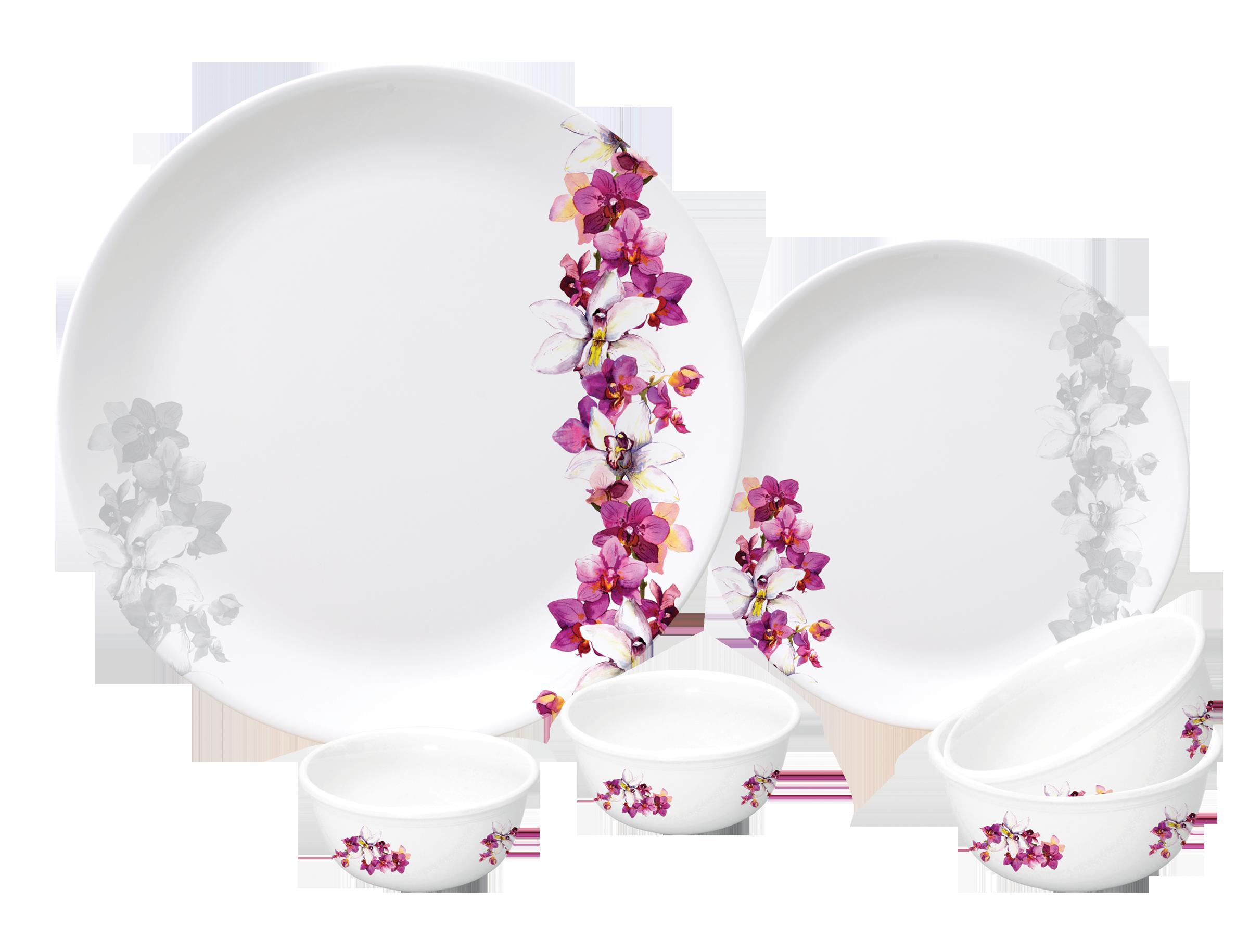 Dinner clipart pink plate.  pc urmi set