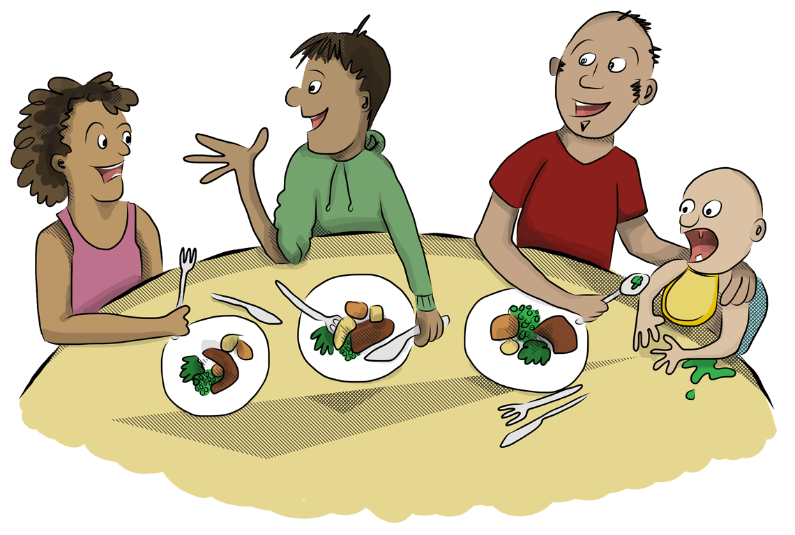 Professional clipart successful family. Workshops talking trouble aotearoa