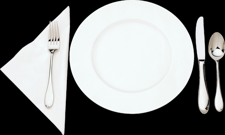 Dinner clipart plate knife fork. Soup transparent png stickpng
