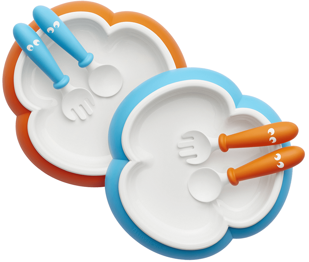 Dishwasher clipart clean plate. Baby set including silverware