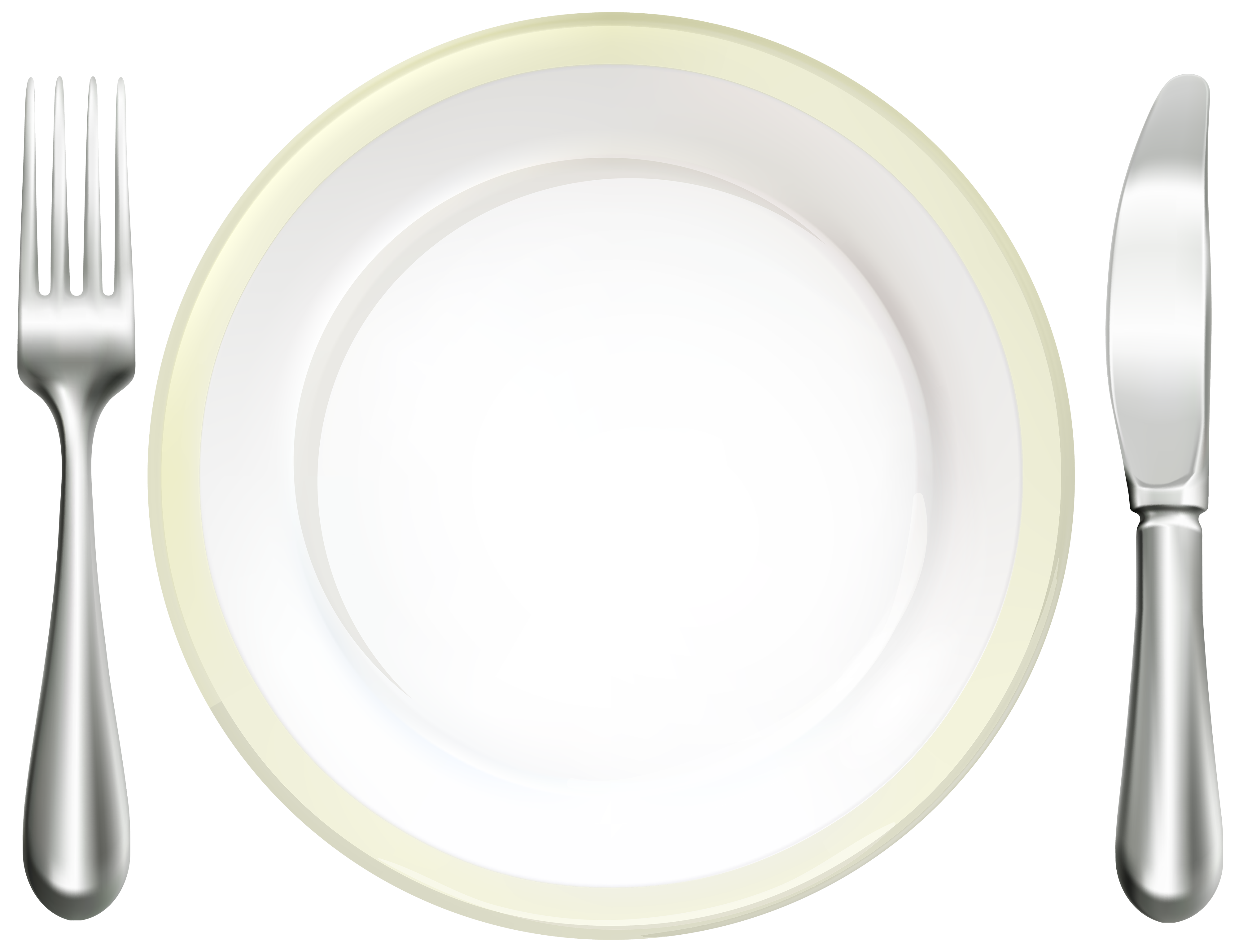 Dishes clipart plate silverware. Place setting desktop screen