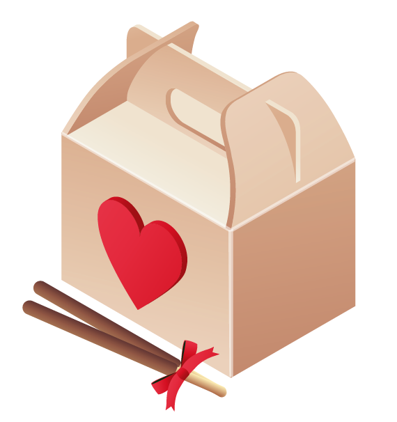 Valentine clipart mail. Dinner box png gallery