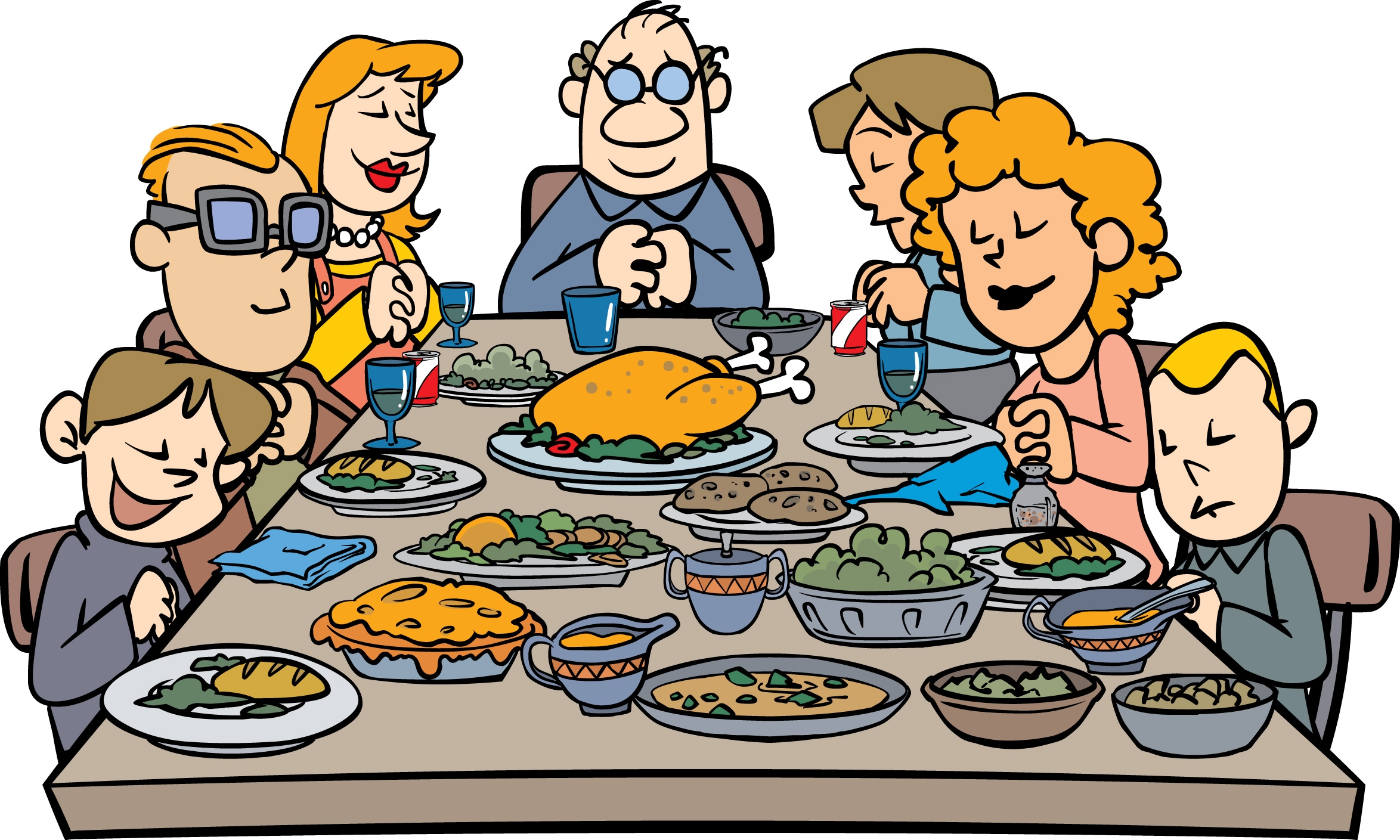 Dinner clipart tradition. Traditions free download best