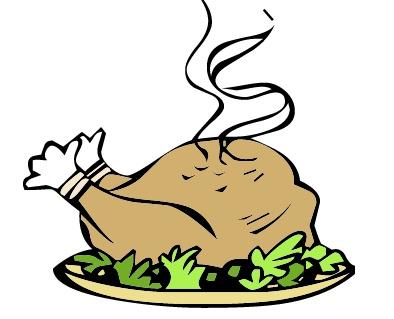 Free download clip art. Dinner clipart turkey