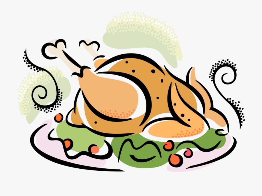 Dinner clipart turkey. Roasted clip art