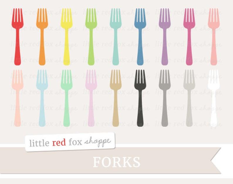 Dinner clipart utensil. Fork cooking clip art