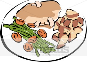 Dinner clipart. Panda free images dinnerclipart
