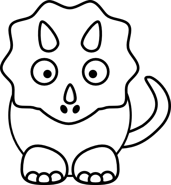 Dinosaur clipart black and white. Arts crafts png transparent