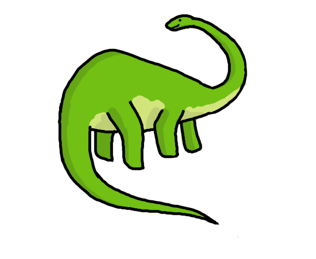 cute images free. Dinosaur clipart black and white