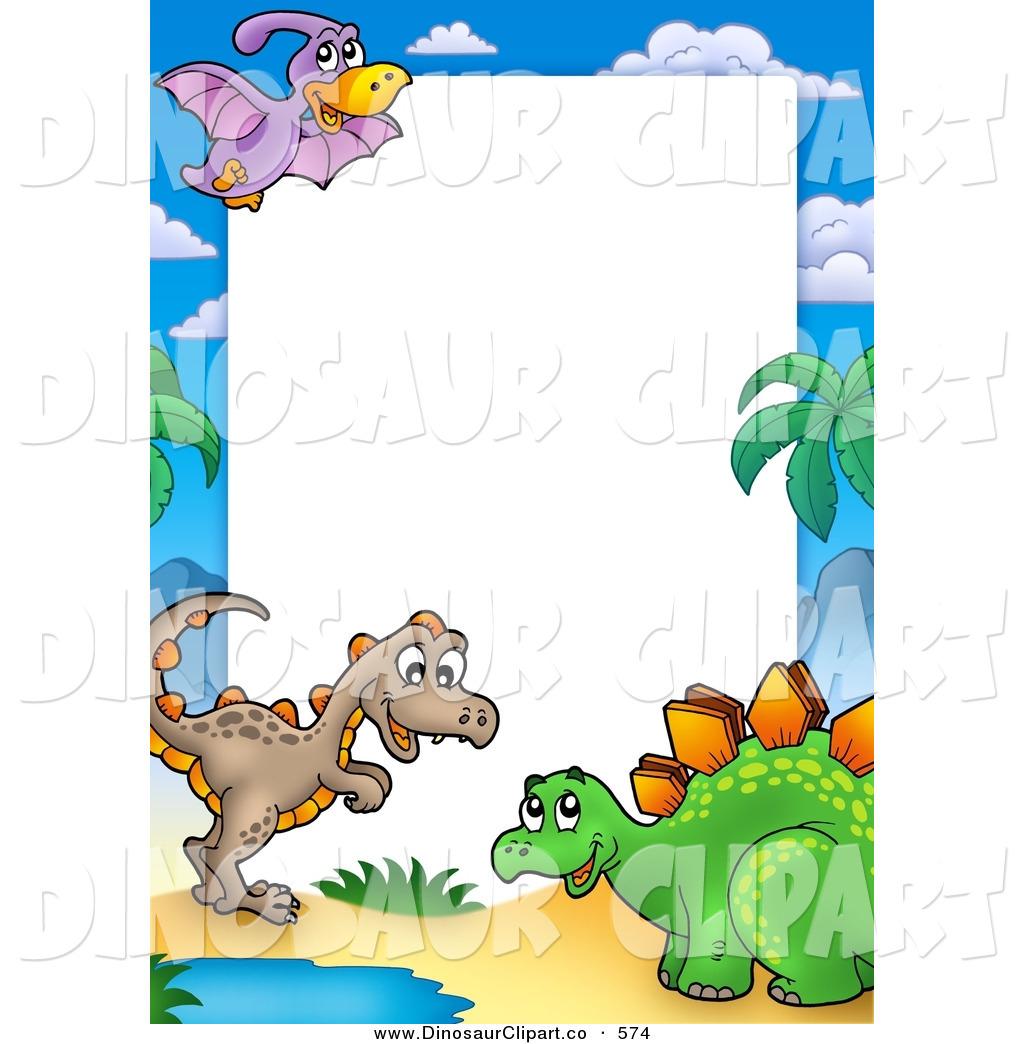 Dinosaur clipart borders. Free download best