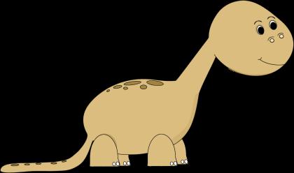 Dinosaur clipart brown. Clip art image