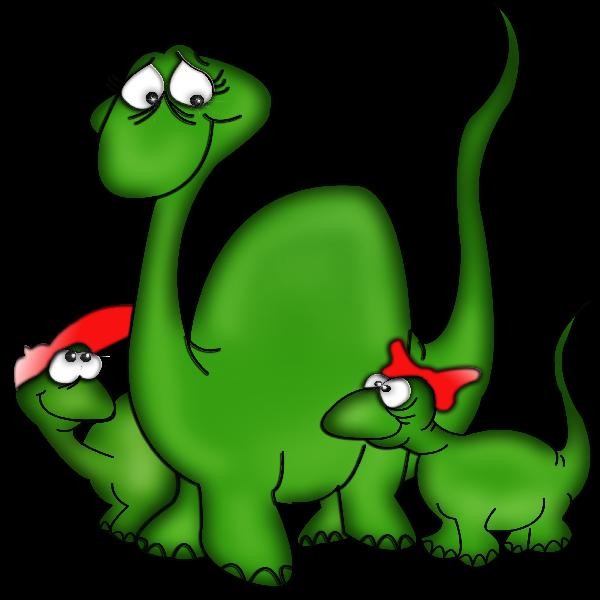 Cute cartoon animal clip. Fat clipart dinosaur