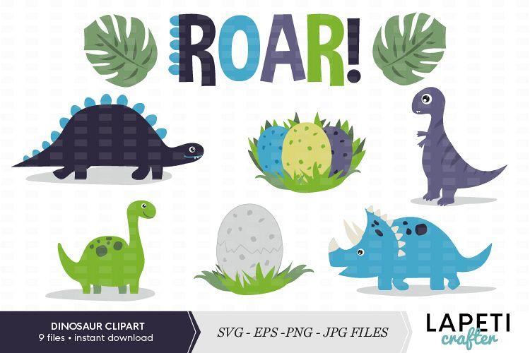 Dinosaur set png jpg. Number 1 clipart svg