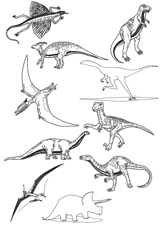 Nickel clipart black and white. Clipartist net dinosaur dinosaurs