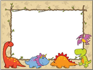 Dinosaurs free images at. Dinosaur clipart frame