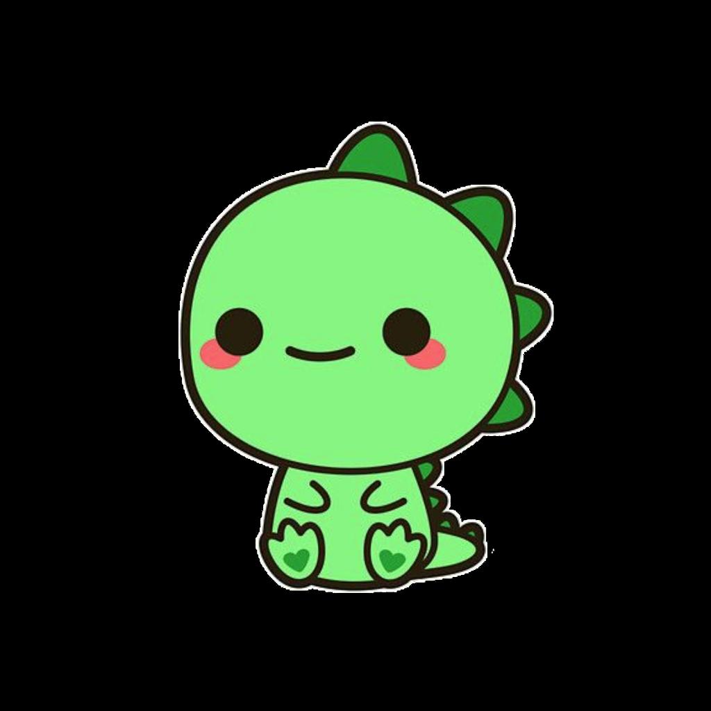 Dinosaur clipart kawaii. Adorable cute