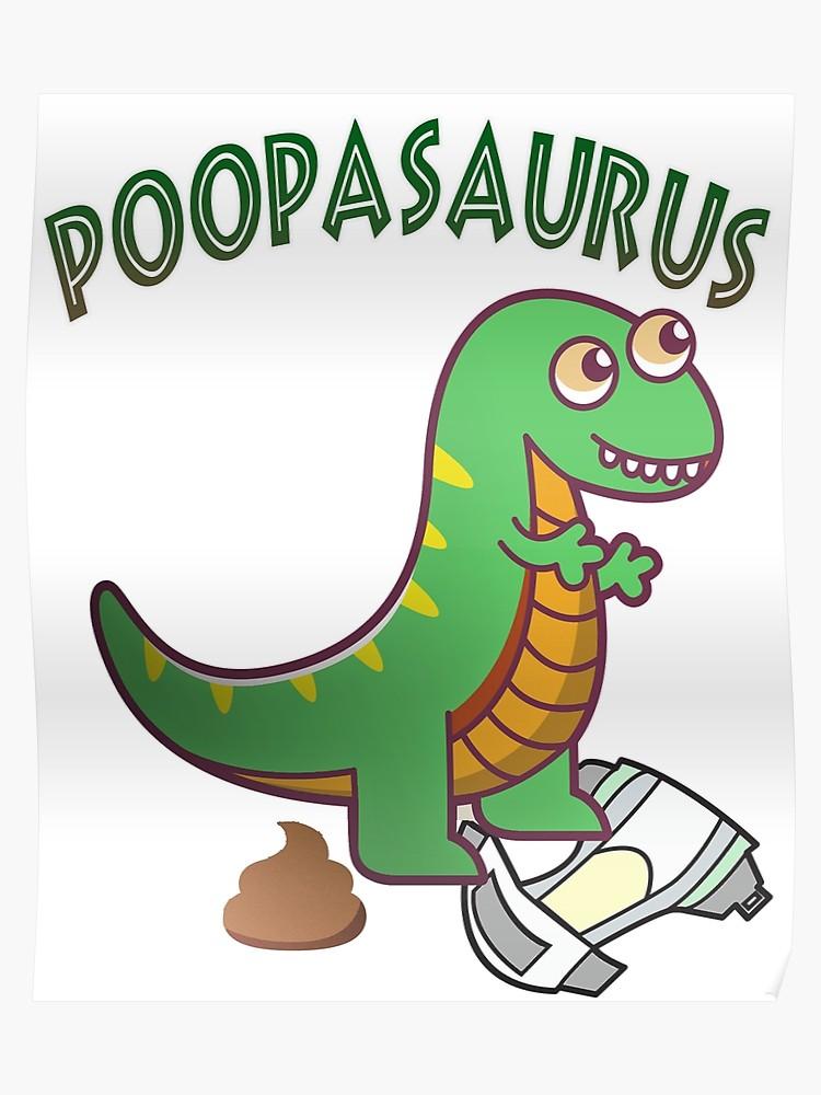 Poopasaurus emoticon baby poo. Dinosaur clipart poop
