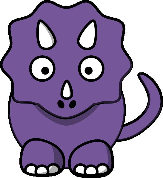 Dinosaur clipart purple. Baby clip art at