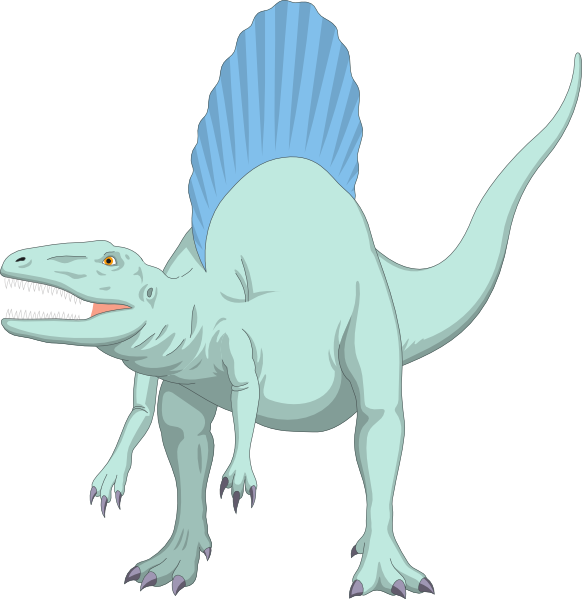 Dinosaur clipart spinosaurus. Vs tyrannosaurus and more