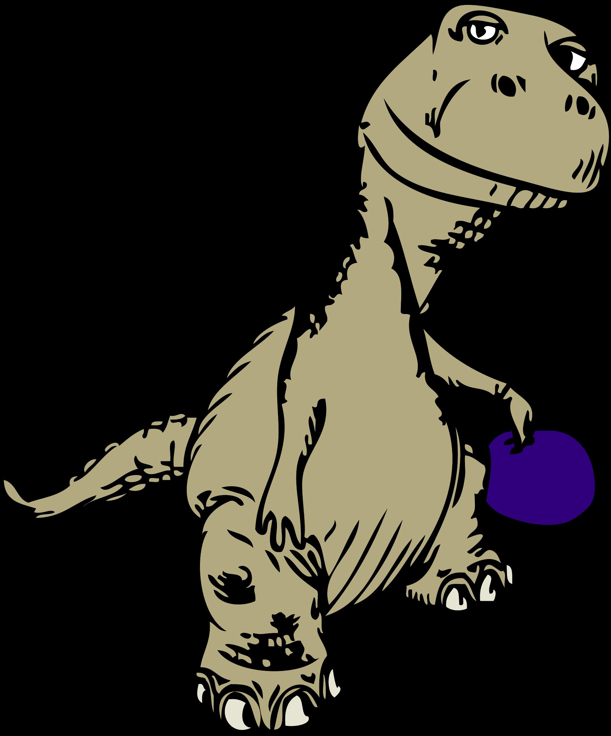 Dinosaur clipart tail. Johnny automatic remix big