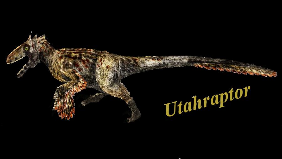 Utahraptor by ultamateterex deviantart. Dinosaur clipart velociraptor