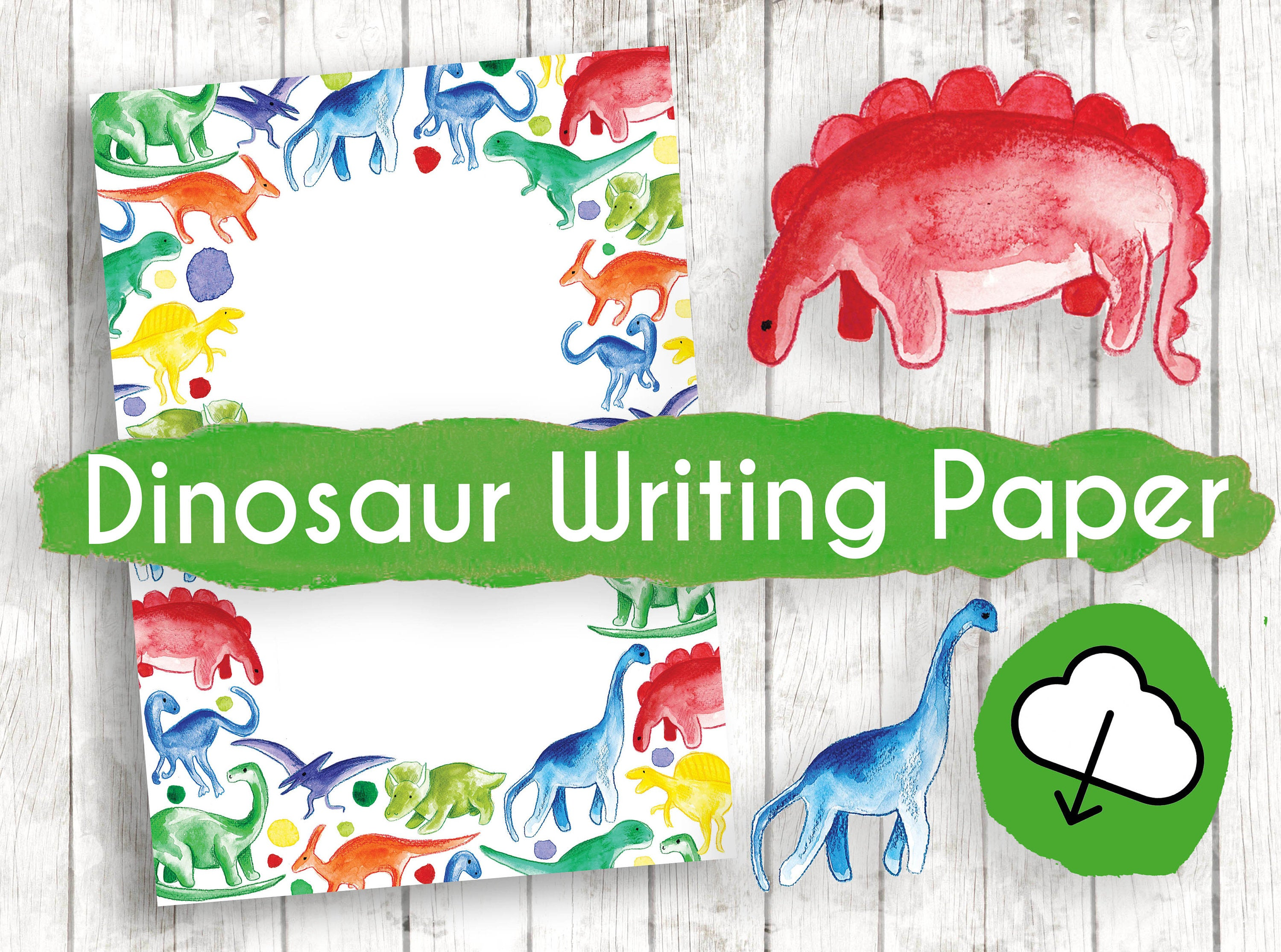 Dinosaur clipart writing. Paper floss papers