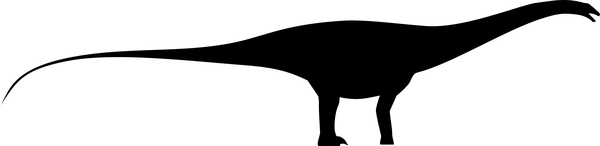 File silhouette svg wikimedia. Dinosaurs clipart apatosaurus