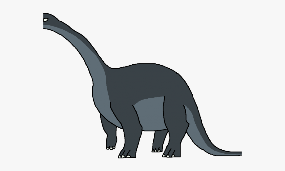 Long neck . Dinosaurs clipart dinosaur land