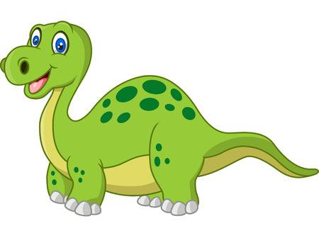X free clip art. Dinosaurs clipart happy