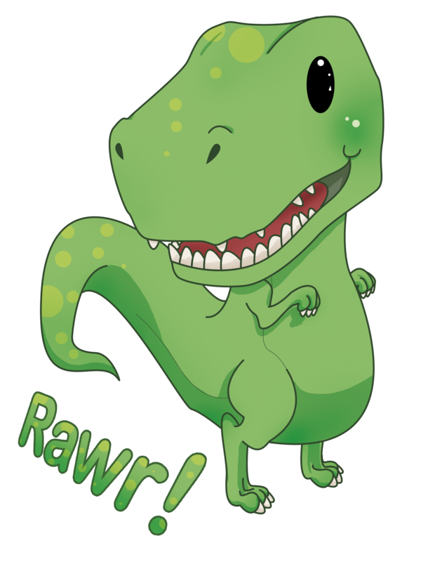 Kawaii clipart dinosaur. Pin by n g
