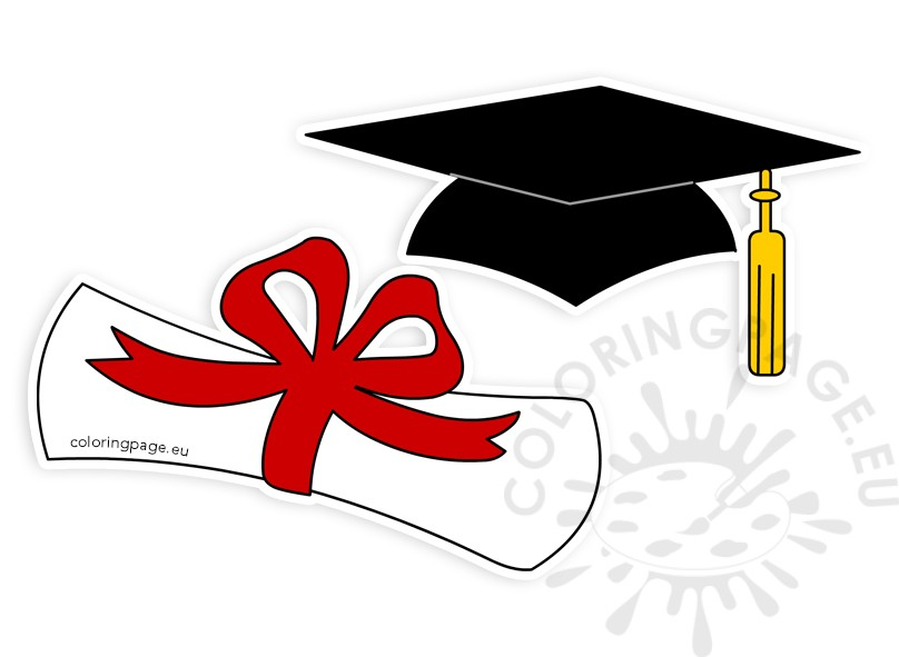 Clip art graduation hat. 2018 clipart diploma