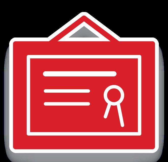Mph icon . Diploma clipart certificate symbol