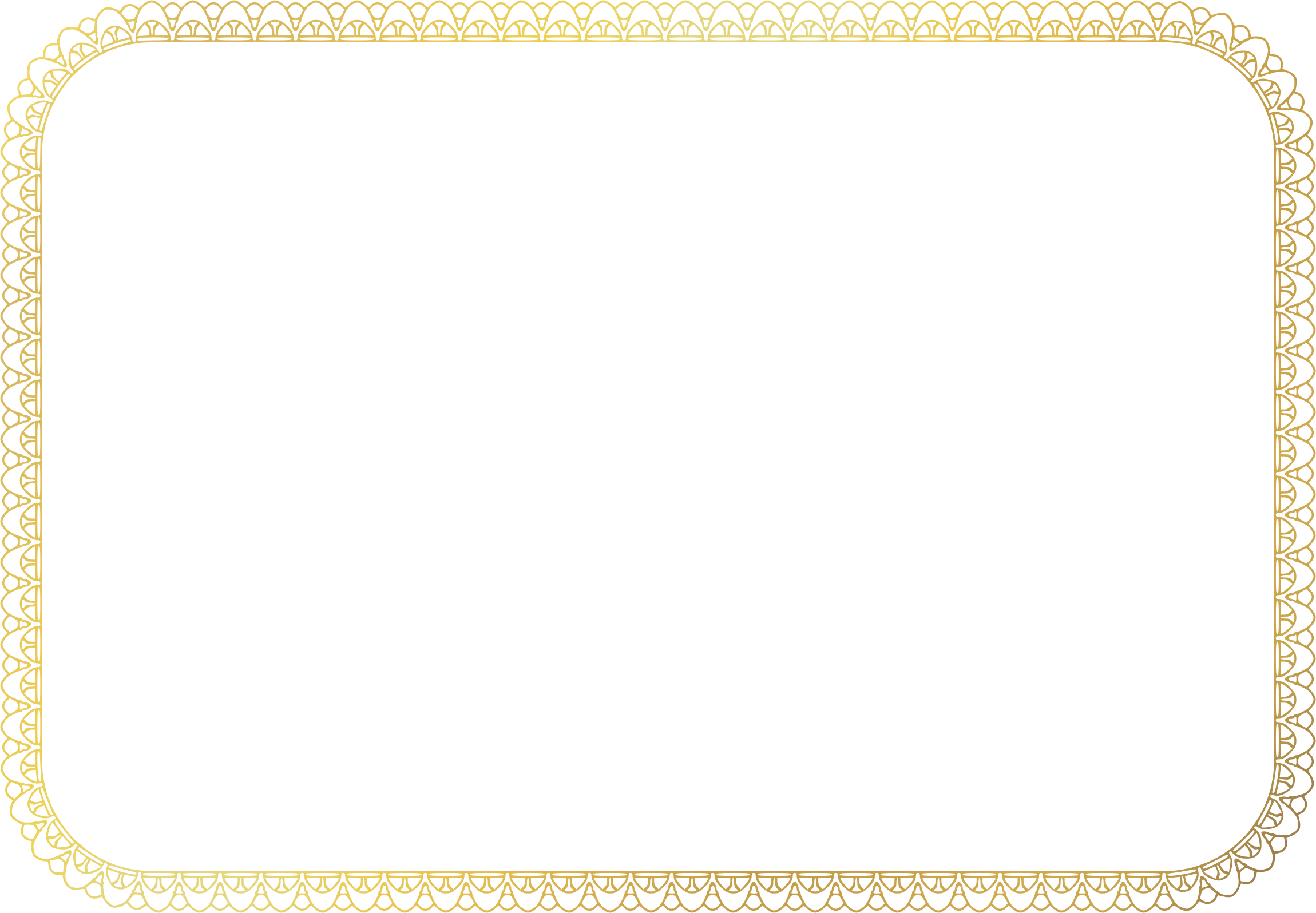 Clipart a size big. Certificate border png