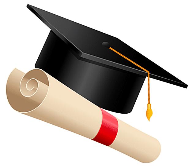 free graduation clip. Diploma clipart convocation
