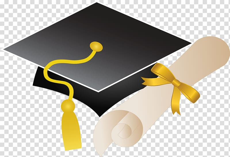 Black mortarboard illustration ceremony. Graduation clipart doctor