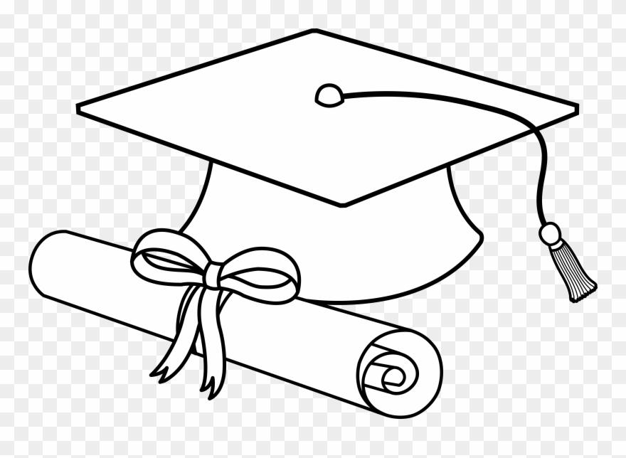Flying caps clip art. Diploma clipart graduation hat